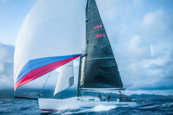 J/125 Timeshaver sailing Newport Ensenada race
