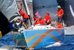 J/122 sailing Antigua