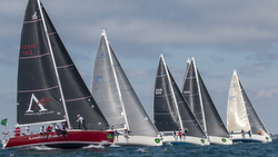 J/109s sailing NYYC Race Week