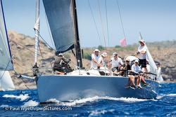 J/133 sailing Antigua Sailing Week
