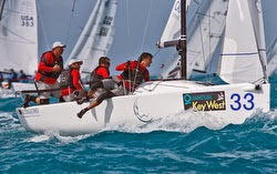 J/70 Calvi Network sailing off Key West
