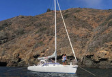 J/105 cruising Channel Islands- Santa Cruz!