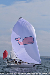 J/70 vineyard vines winning Tampa Bay Quantum Winter Series