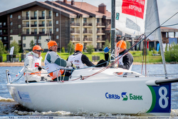 J/70s sailing Russia league