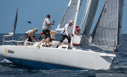 J/105 sailing Heineken Regatta