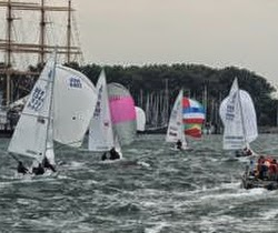 J/22s sailing in Travemunde, Germany