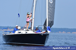 J/105 at Screwpile Lighthouse Challenge regatta