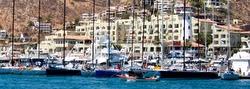 Cabo San Lucas harbor- sailing paradise
