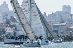 J111s sailing San Francisco waterfront