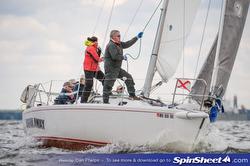 J/105 sailing Chesapeake Bay champs