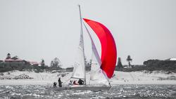 J/24 sailing off Cronulla, Australia
