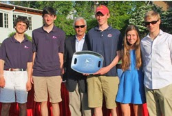 J/105 Young America team- winning Block Island Race