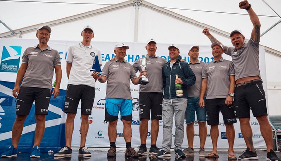 J/112E Matilda 4 winners podium
