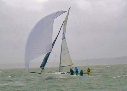 J/80 sailing Warsash spring series