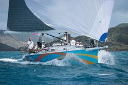 J/122 El Ocaso sailing Heineken St Maarten regatta