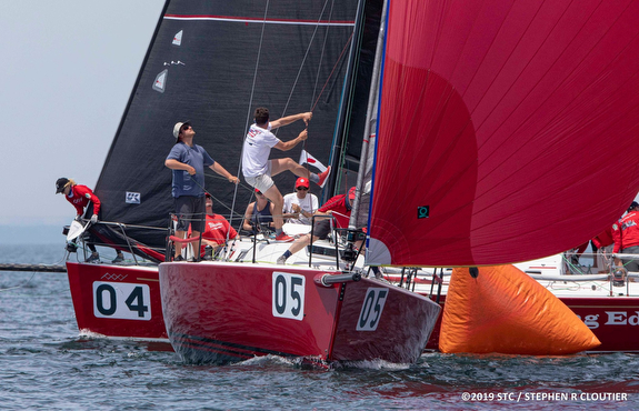 J/109s sailing Block Island Race Week