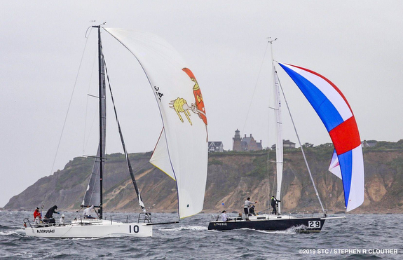 J/88 and J/105 sailing Block Island