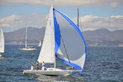 J/80 sailing Banderas Bay, Mexico
