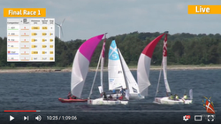 J/70 Denmark Sailing League video