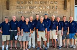 J/105 Masters skippers at San Diego YC
