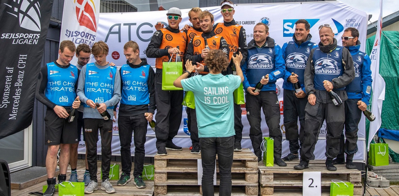 J/70 winners in Danish sailing league