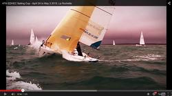J/80 video sailing EDHEC Cup