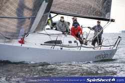 J/111 sailing Annapolis Fall Series