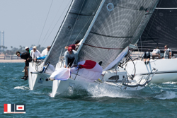 J/111 sailing Long Beach Race Week