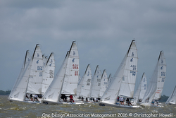 J/70 North Americans- sailing off start
