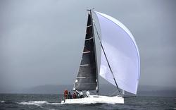 J/88 sailing fast downwind