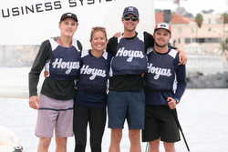 J/22 College match race champions- Georgetown