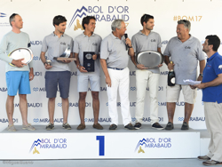 J/70 winners of Bol d'Or Mirabaud on Lake Geneva, Switzerland