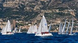 J/70s sailing off Monte Carlo, Monaco- Primo Cup
