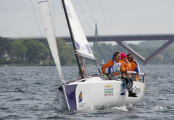 J/70 sailing Swedish Sailing League