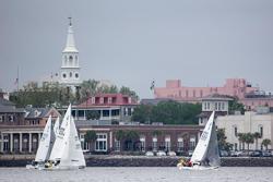 J/24s sailing Charleston