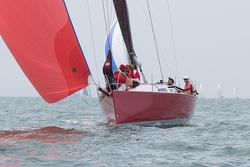 J/111 Scarlet Runner sailing off Australia