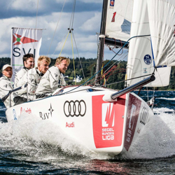 J/70 sailing Germany league