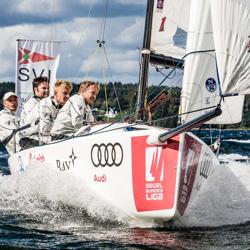 J/70 sailing Germany league