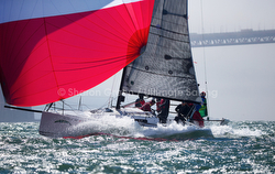 J/88 sailing San Francisco Rolex Big Boat Series