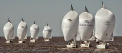 J/24 Argentina- sailing Pan Am Games trials
