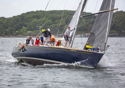 J/44 Maxine sailing NYYC Race Week