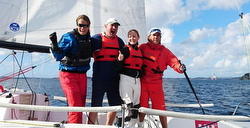 Norway J/70 Sailing League winners- KNS