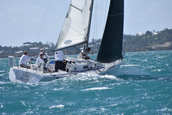 J/105 sailing Bermuda's Great Sound