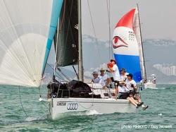 J/109 sailing Hong Kong offshore race