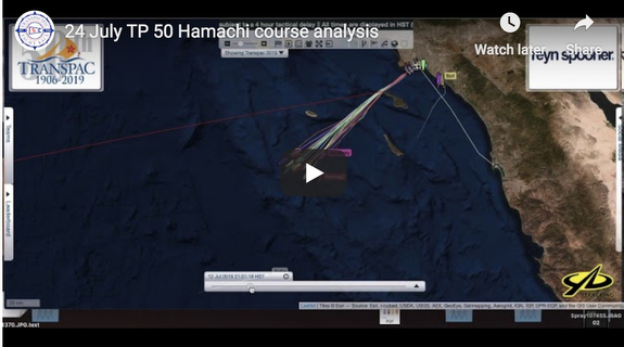 J/125 Hamachi sailing / race strategy- Transpac Race