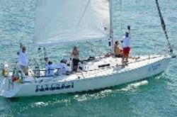 J/105 sailing Banderas Bay Regatta