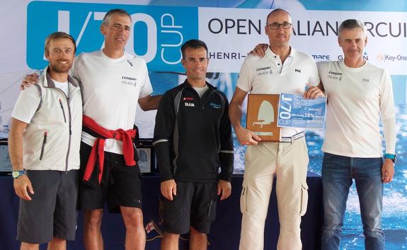 L'Elagain J/70 San Remo winners