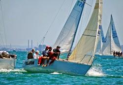 J/24s sailing Australia
