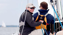 Hutchinson sailing J/24