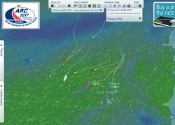 J/133 sailing ARC Atlantic Rally